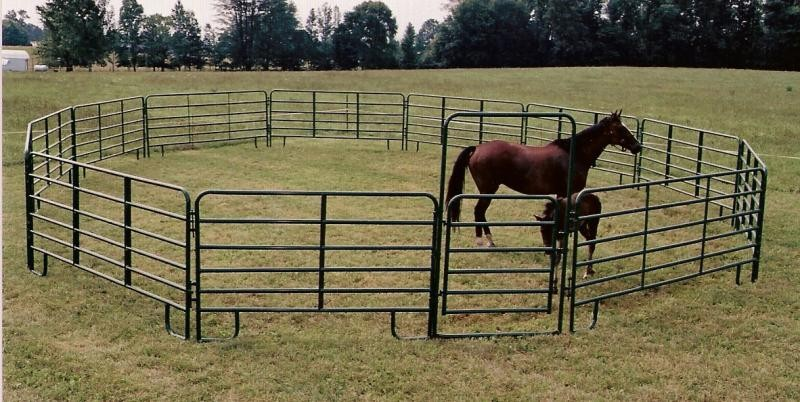 Round Pens Jl Gate Co Bull Panels Corral Panels Farm Gates